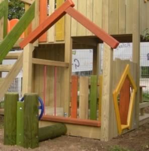 Izdelava otroške hišice