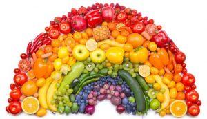 zdrava prehrana popolna postava